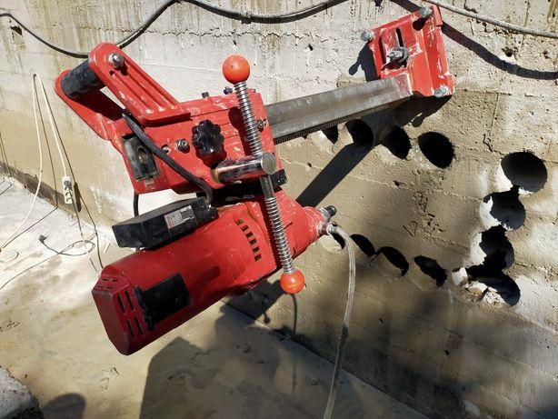 Сверление фундамента и бетона