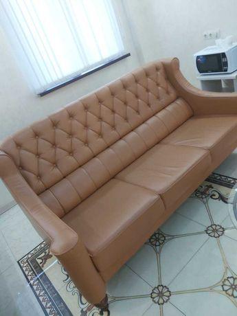 Продам кожазам. диван