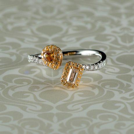 Inel din aur alb 18k, 3,19 grame (cod 8257)