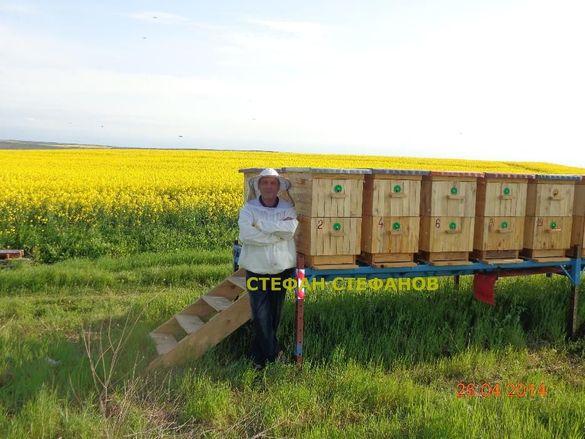 Пчеларска. Платформа за пчелни кошери + колесар