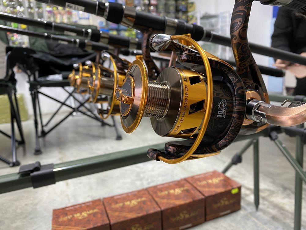 Kit set pescuit rod pod mulinete lansete 3.6 senzori swinger guta fir