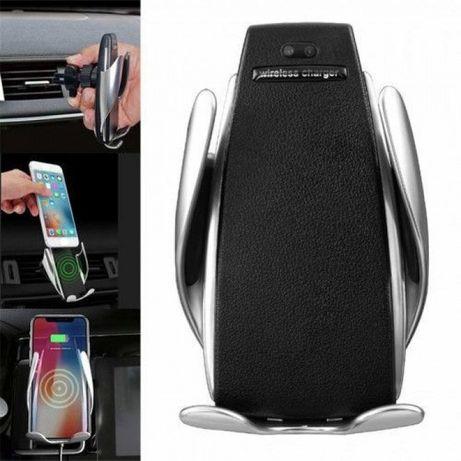 Suport Auto INCARCATOR auto WIRELESS suport telefon Fast Charge,NOU