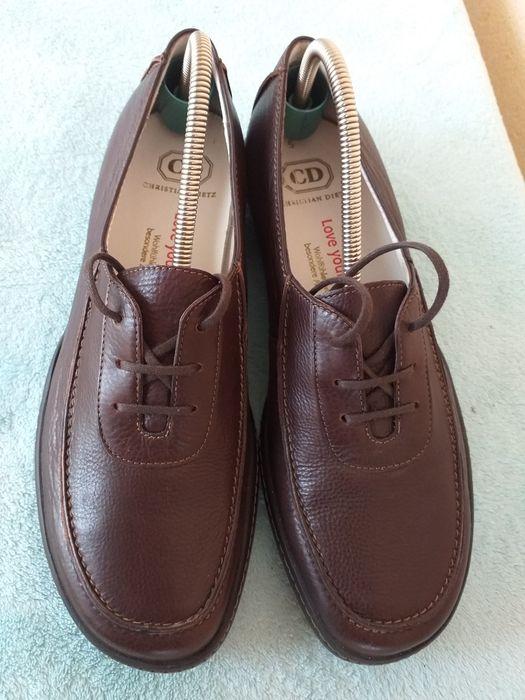Pantofi noi piele C.D nr 39 Periam - imagine 1