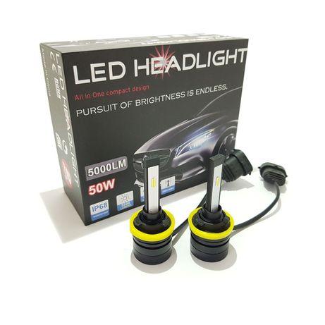УЛТРА ПРОМО -45% LED Headlight S-Max +150% - H1, H3, H4, H7, H8, HB3,