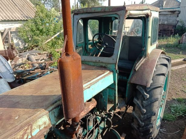 Трактор т-40, пресс, гребка, сенокоска