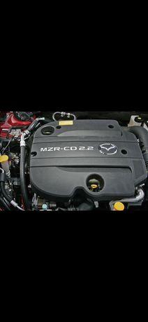 Двигател на части за Мазда 3, 2.2 дизел, 2010г