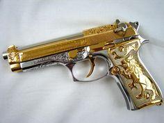 #Pistol Airsoft Beretta M9 /CO2/METAL/4,6 JOULI#