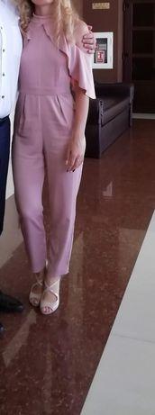 Salopeta roz eleganta
