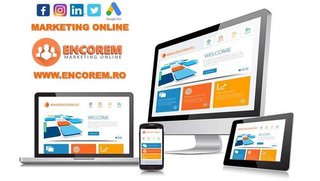 Creare Website - Promovare Social Media & Google - Digital Marketing