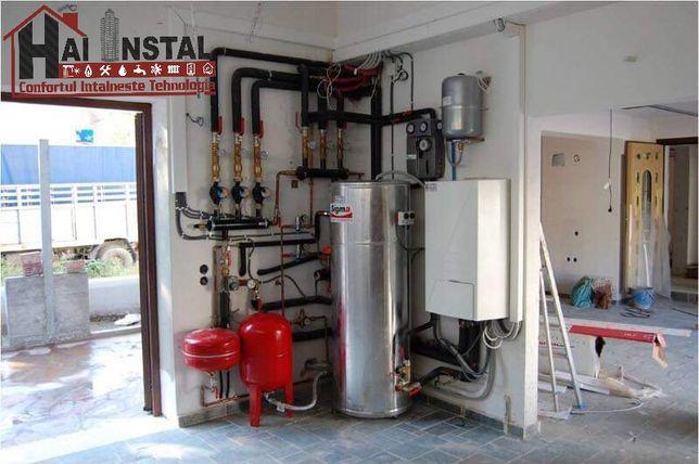 Instalatii termice-sanitare-canalizări-alimentări ape-gaze-orice insta