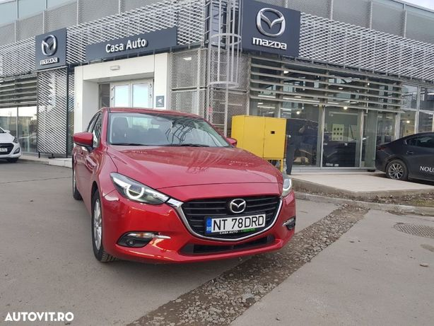 Mazda 3 Mazda 3 Attraction MT6 Vopsea metalizata Rosu Soul