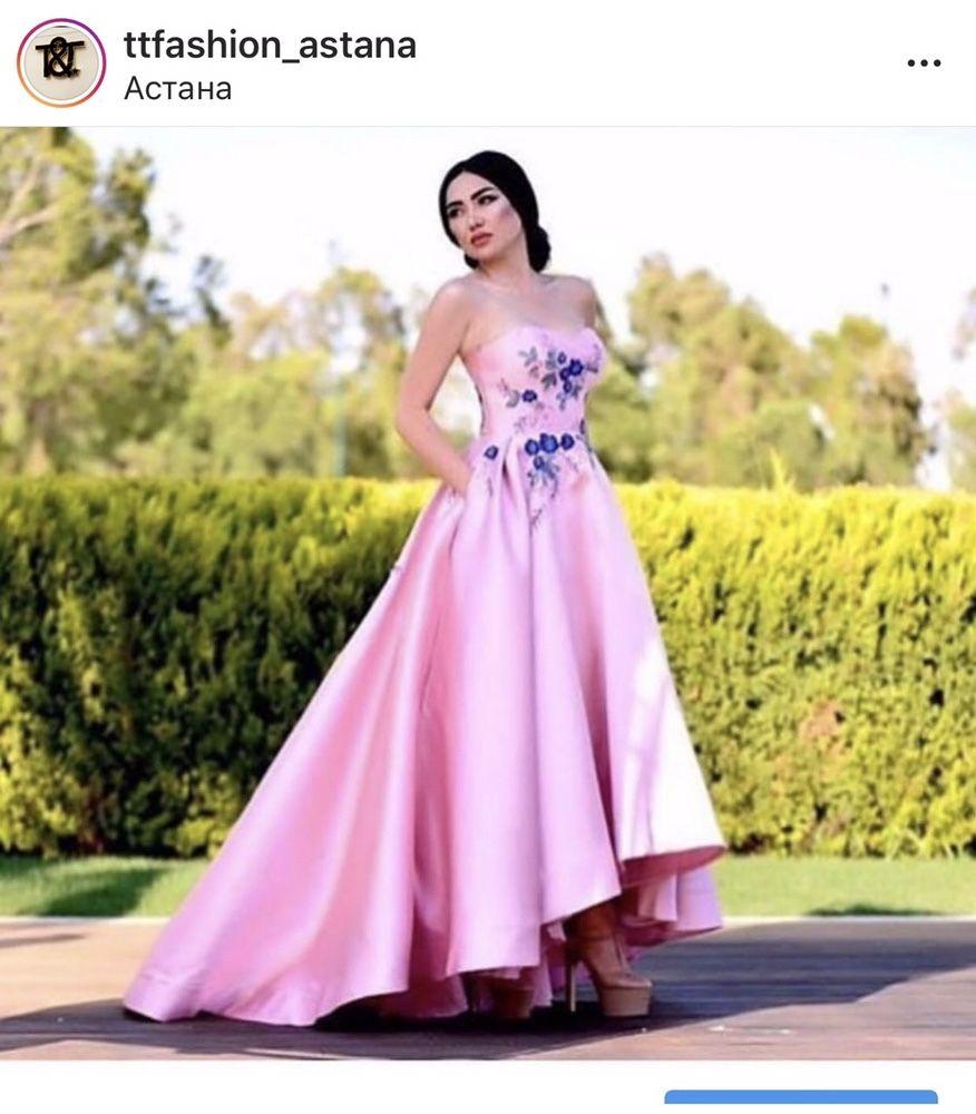 Продам Платье от казахстанского дизайнера новая