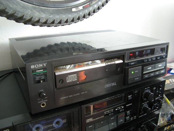 Sony CDP-101 - първият домашен CD плейър
