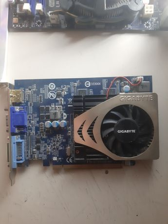 Видеокарта gigabyte gv-r4650c-1gb