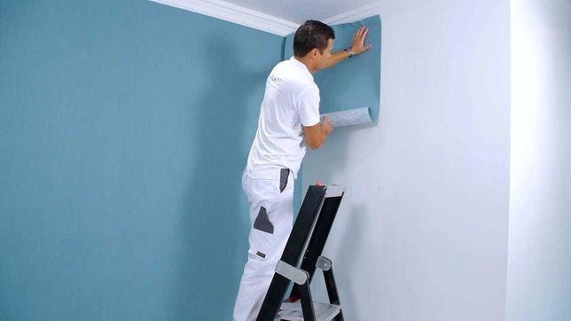 Услуги по ремонту : Обои , покраска стен и потолков, галтели