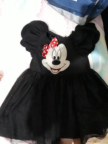 Rochiță  Minny Mouse si salopeta