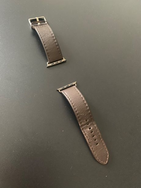 Продам кожаный ремешок / браслет для Apple Watch (коричневый)