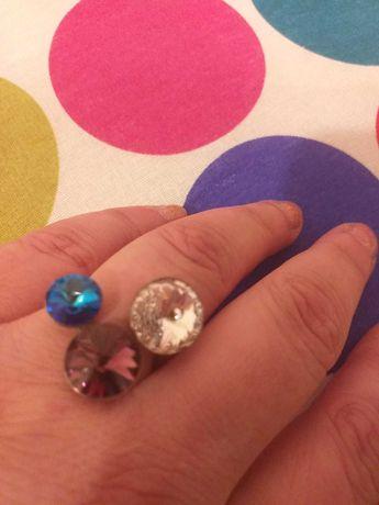 Inel de Argint, cu pietre colorate
