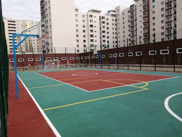 Монтаж футбольных полей и спортивных площадок