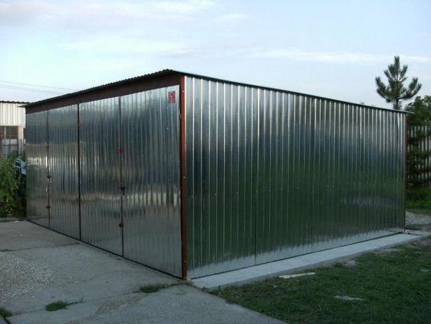 OFERTĂ: Garaj metalic pentru 2 masini, de 6m x 5m, ieftin