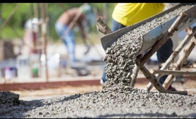 Доставка бетон с миксером. Раствор м200 м250