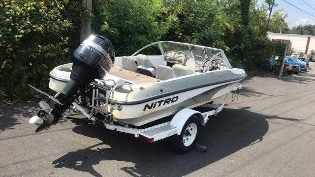 Barca Pescuit Nitro 175 + Tracker 90cp