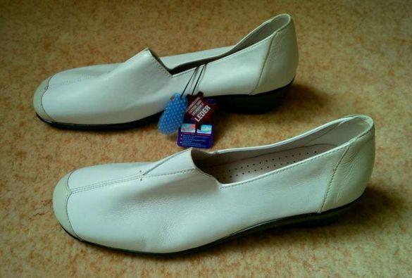 CAPRICE - чисто нови немски анатомични обувки от естествена кожа