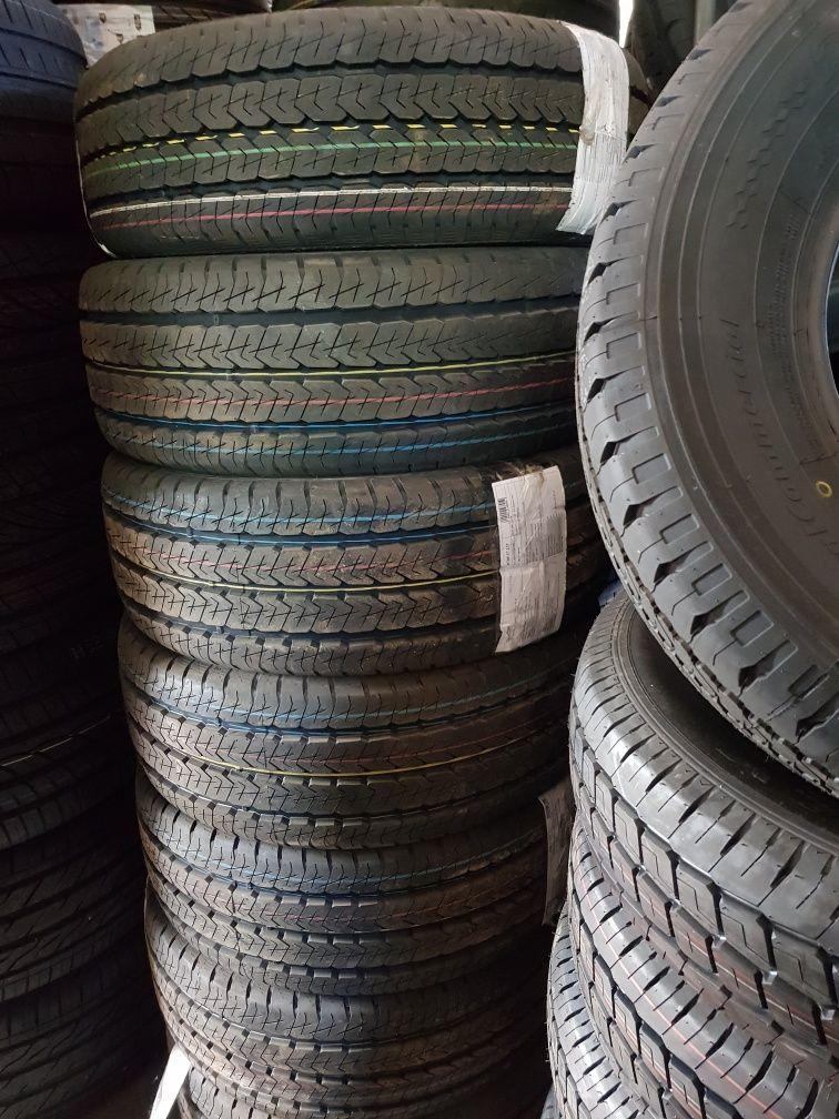 Бусови-15цола-нови гуми-225/70:195/70