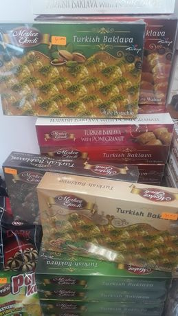 Продавам Турска баклава и халва