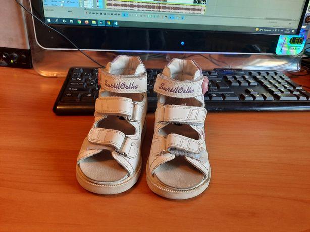 Детская ортопедическая обувь размер 19