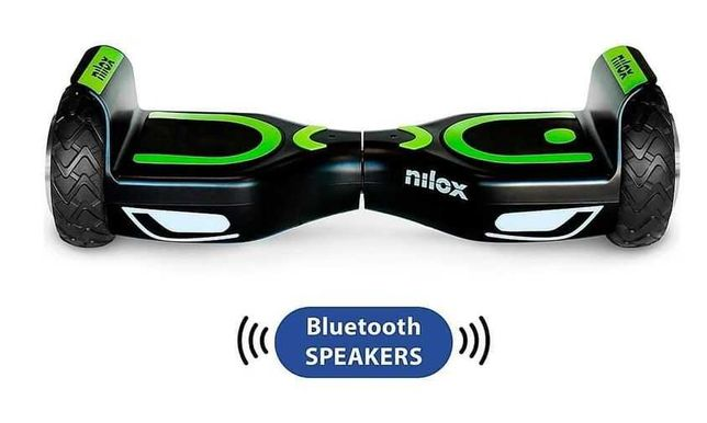 Hoverboard Nilox Doc 2 Bluetooth speaker AmanetMillion