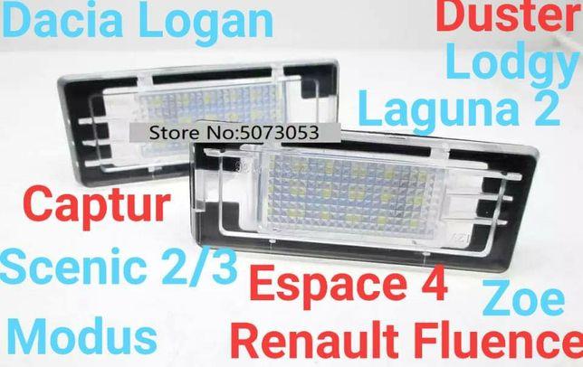 Lămpi Număr Dacia Lodgy,Logan,Duster/Renault Espace,Fluence,Laguna,etc