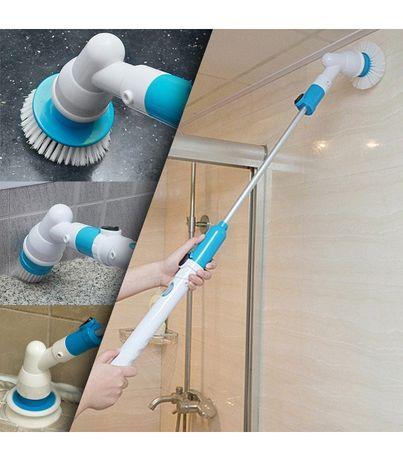 Четка Електрическа, телескопична за почистване на баня, под, плочки