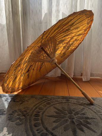 Солнцезащитный зонт ручной работы