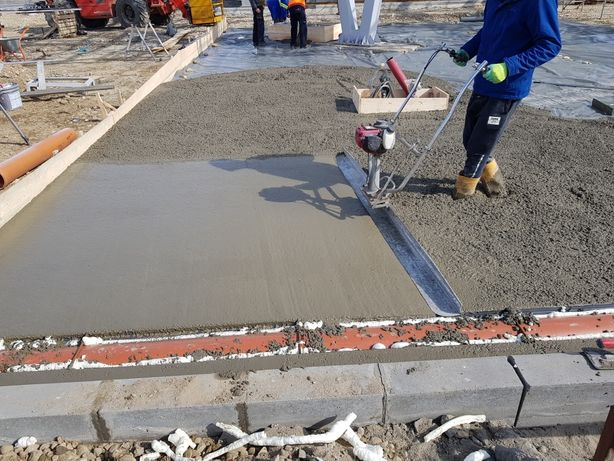 Beton elicopterizat, platforme industriale, beton rutier