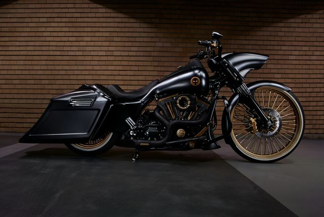 Harley Davidson Road King Custom Bagger