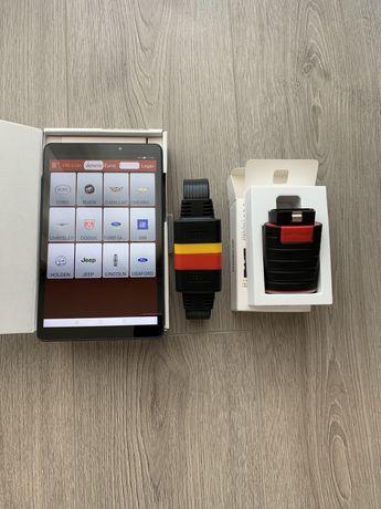 "Diagnoza/Tester Launch-x431-V4.0+Tableta Huawei T10-10""+Husa+Cablu"