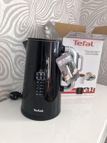 Чайник Tefal новый электрический с цифровым дисплеем