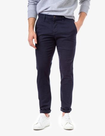 Pantaloni barbati US Polo Assn, bleumarin