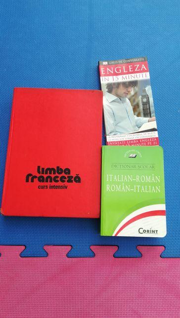 Dictionar cursuri italian francez englez