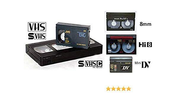 Transfer casete video VHS, mini DV si 8 mm pe DVD