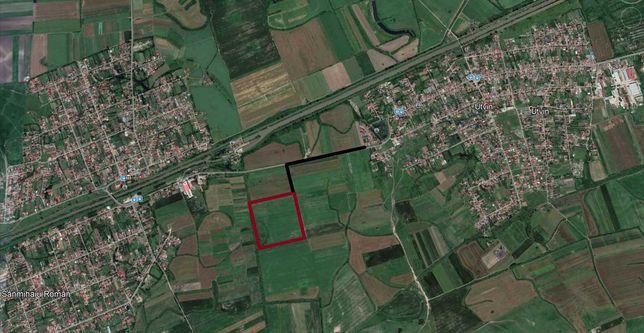 Parcele teren Utvin, cu utilitati si case in curs, posibilitate rate