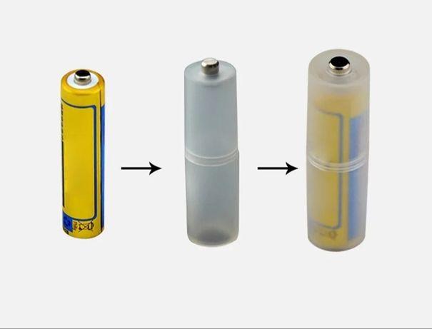 Переходники для батареек с ААА на АА