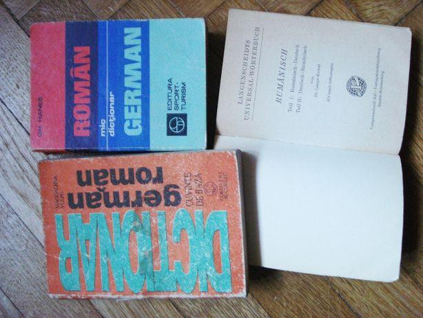 dictionare roman german, german roman