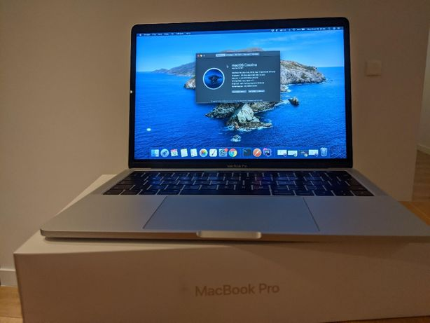 "MacBook Pro 13"" Touch Bar i5 2.9GHz 256GB SSD Silver 2016 Retina BOX"