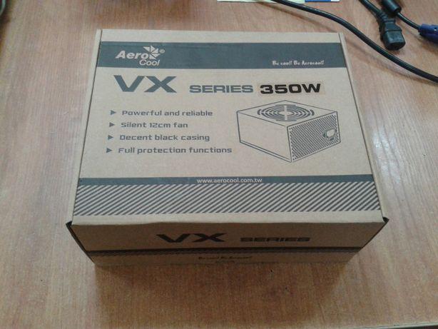 Блок питания АТХ AeroCool VX350. Новый.