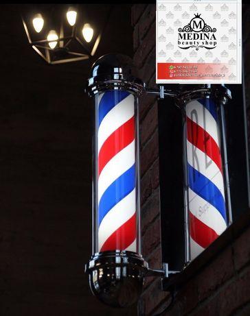 Барбер пул, Barber pule значок барбершоп