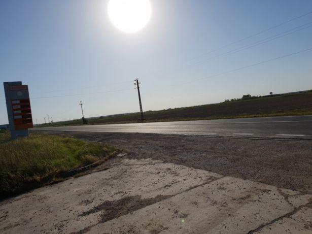 Amplasare panouri publicitare,front la drum european E81