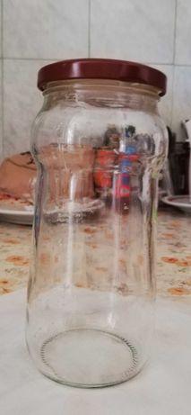 Am 12 Borcane din sticla cu capac capacitate 446 ml