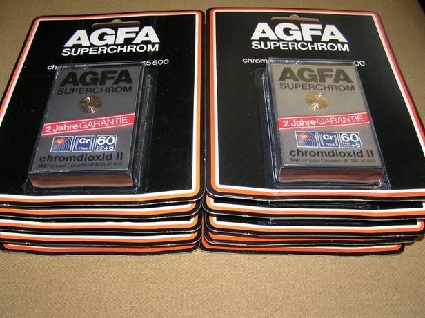 Casete audio Agfa Superchrom